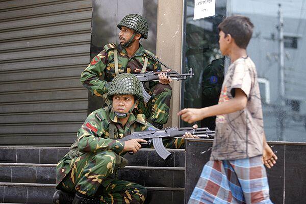 Мятеж в Бангладеше