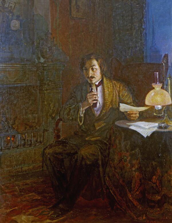 Портрет писателя Н.В.Гоголя