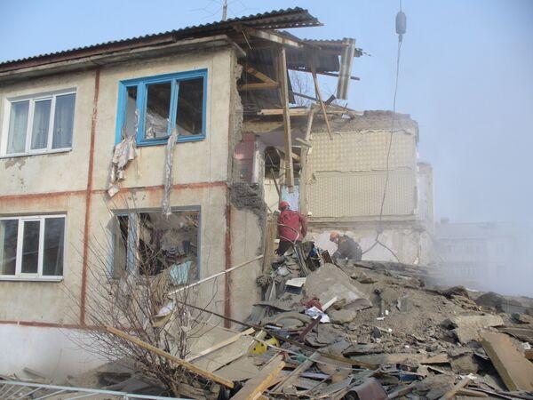 Взрыв бытового газа в жилом доме в селе Воздвиженка Приморского края
