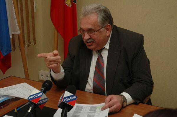 Фото побшего председателя избиркома Алтайского края Сергея Сытых