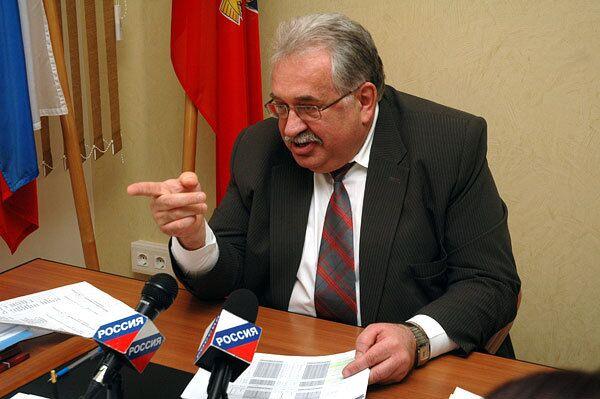 Фото погибшего главы избиркома Алтайского края Сергея Сытых
