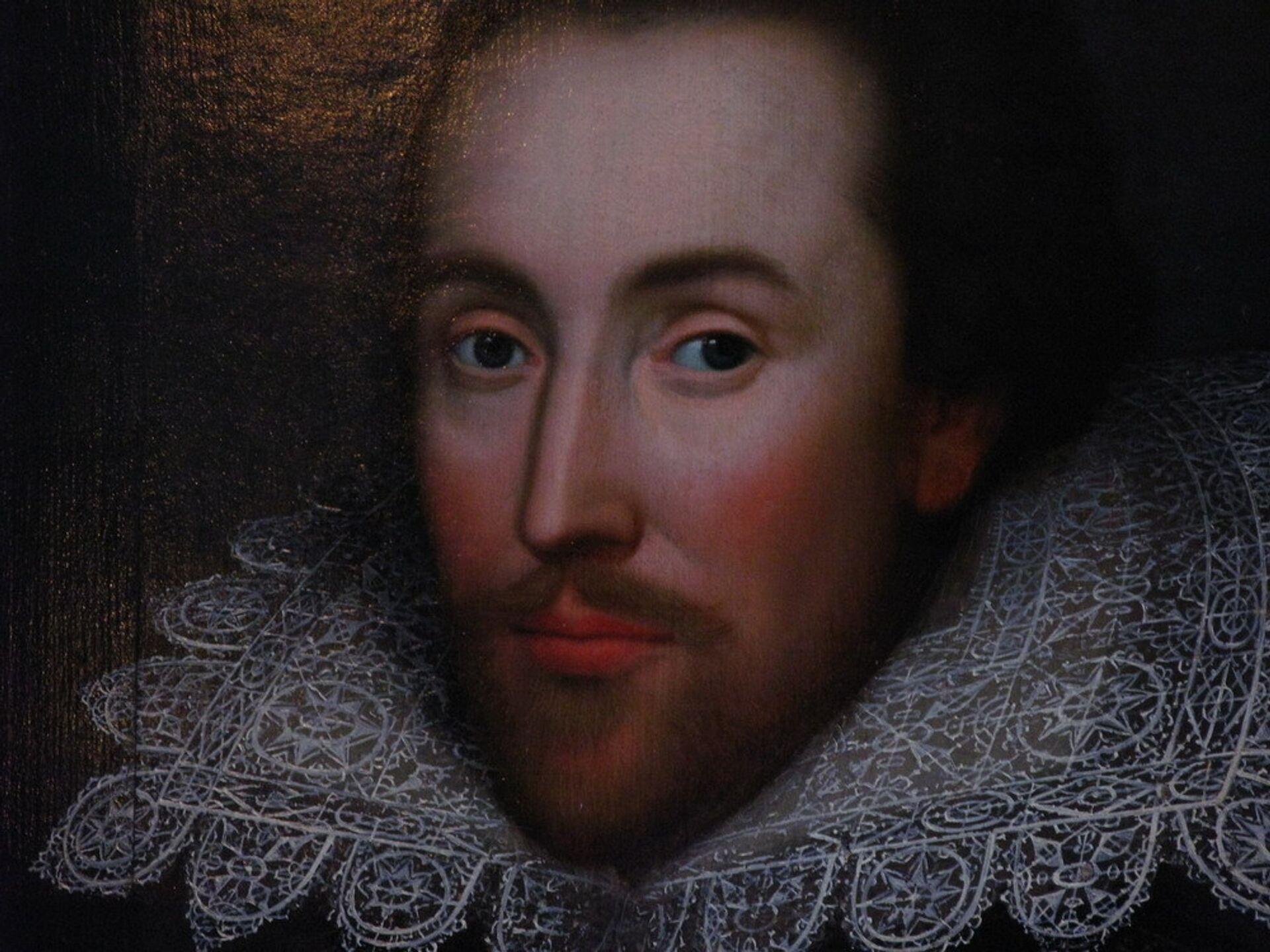 Единственный известный на сегодняшний день прижизненный портрет Шекспира - РИА Новости, 1920, 25.02.2021
