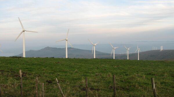 Эксперементальный парк ветряной энергии Сотовенто (Галисия)