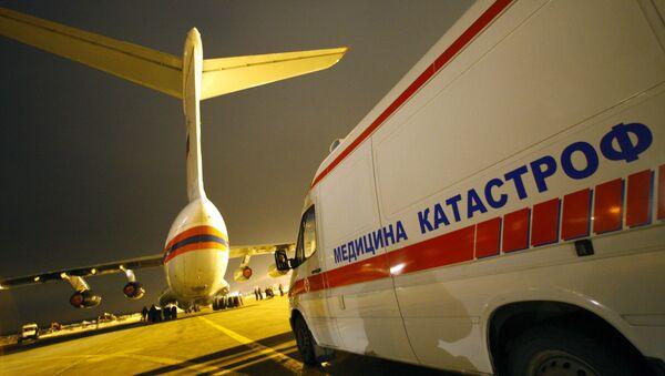 Самолет МЧС направлен в Тверь с модулями для тяжелораненых