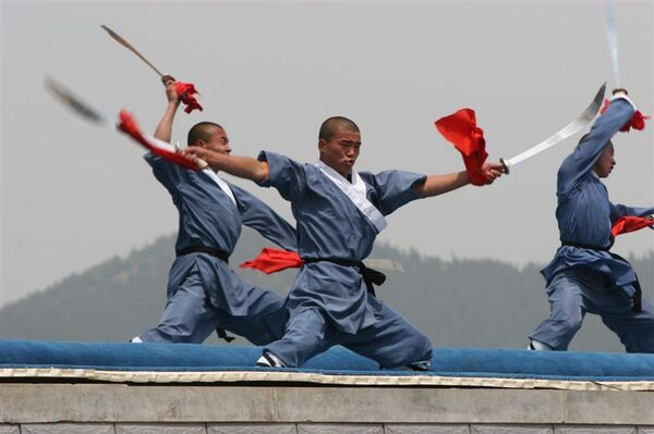 Монастырь Шаолинь – колыбель боевых искусств Китая`