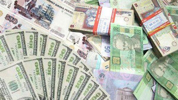 Гривны, рубли и доллары