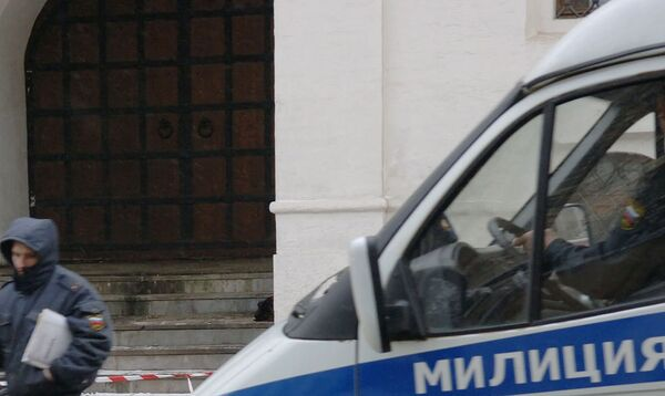 Милиционеры ищут мужчину, сообщившего о бомбе в московском офисе