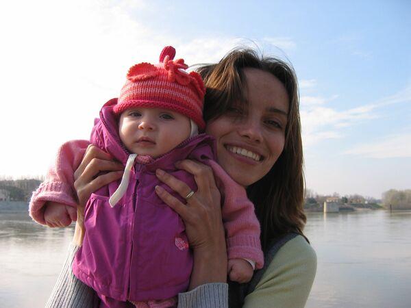 Елизавета Андре, дочь Ирины Юрьевны Беленькой и гражданина Франции Жана-Мишеля Андре