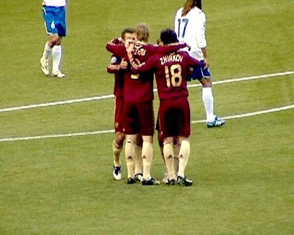 Лучшие моменты матча Россия - Азербайджан