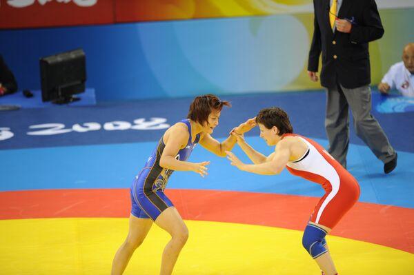 Волосова принесла России восьмую медаль ЧМ по борьбе в Дании