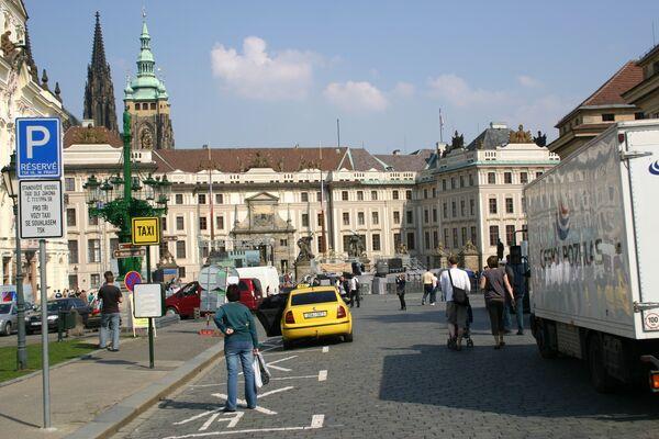 Прага накануне визита Барака Обамы