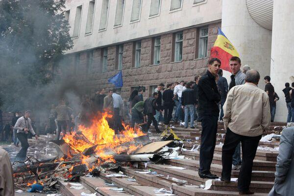 Молдавский бизнесмен арестован по подозрению в организации беспорядков