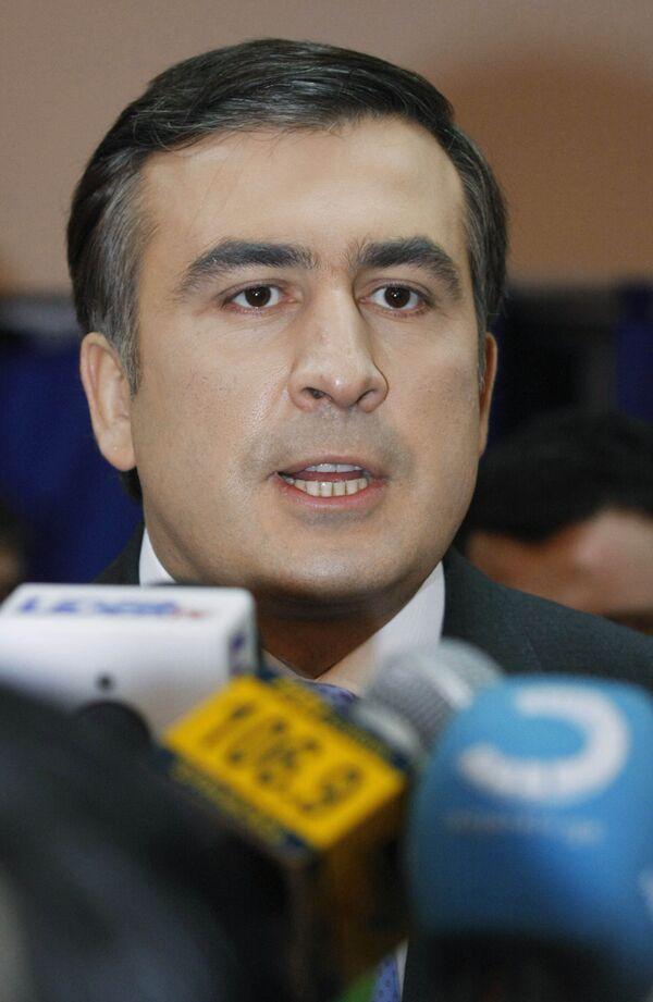Саакашвили объявил о поимке шпиона