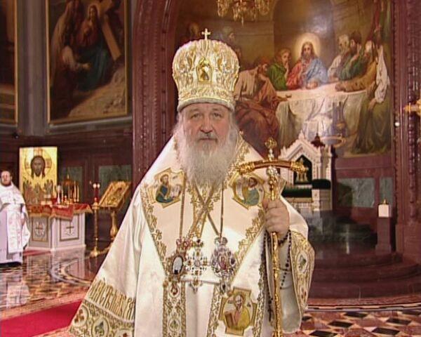 Обращение патриарха по случаю праздника Воскресения Христова