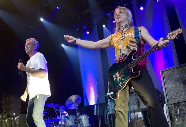 Концерт рок-группы Deep Purple в Москве. Архив.