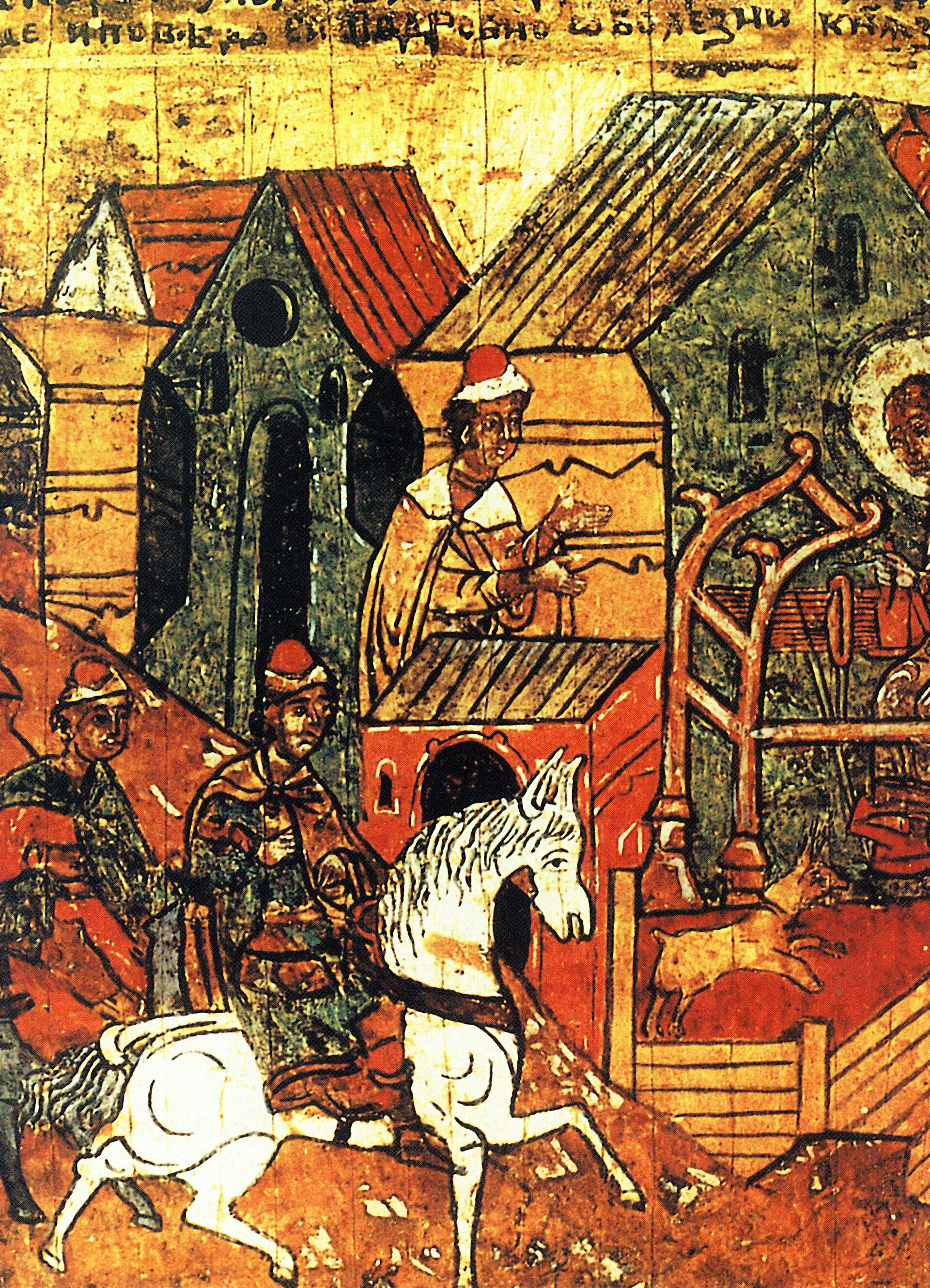 Икона Св. Петр и Феврония Муромские  - РИА Новости, 1920, 06.07.2021