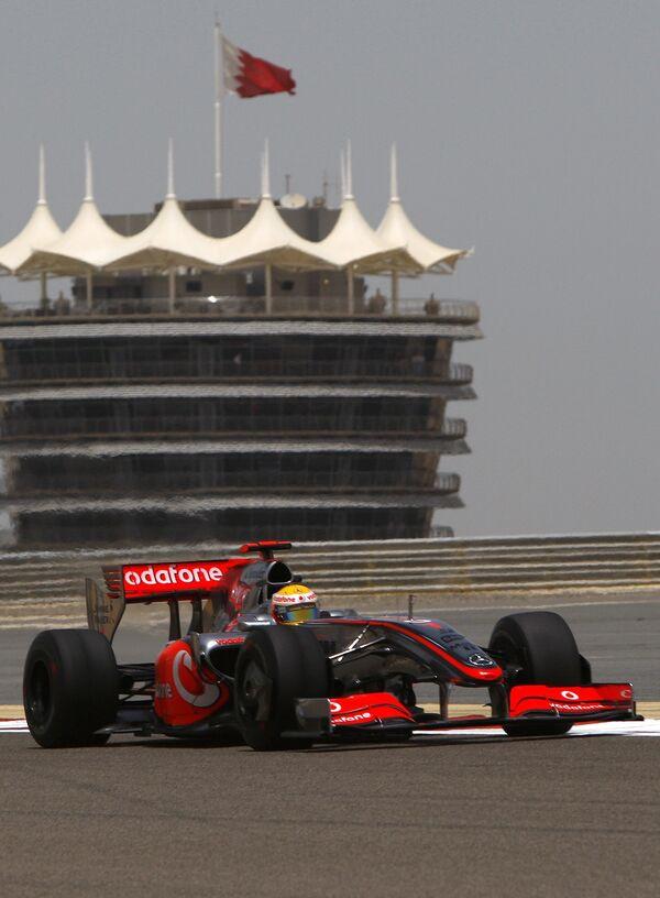Болид Льюиса Хэмилтона на Гран-при Бахрейна