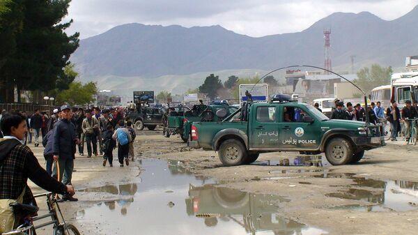 Афганская полиция. Архив