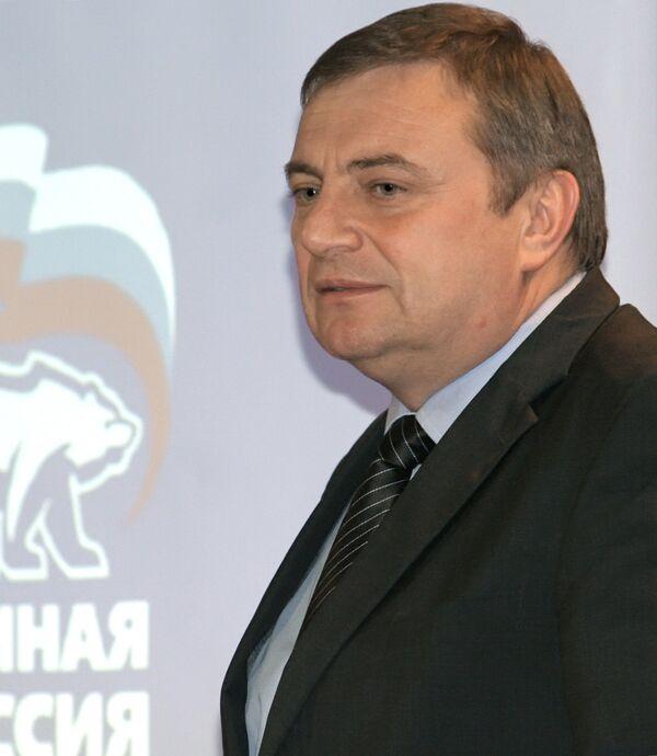 Исполняющий обязанности мэра Сочи Анатолий Пахомов