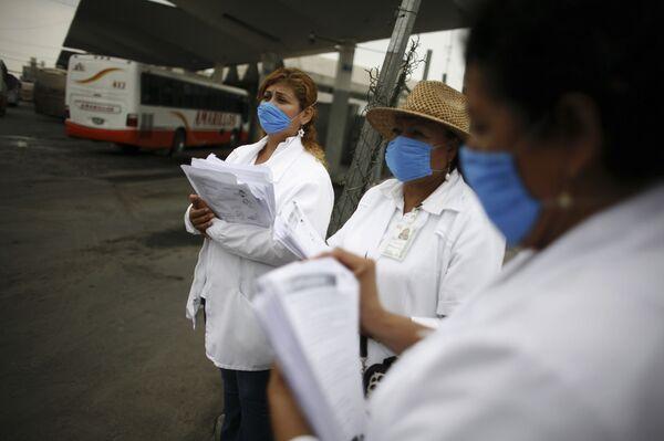 Эпидемия гриппа А/H1N1
