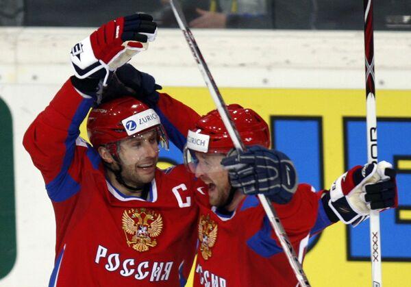Алексей Морозов (слева) и Виталий Атюшов