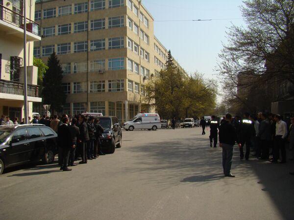 Перестрелка в Баку