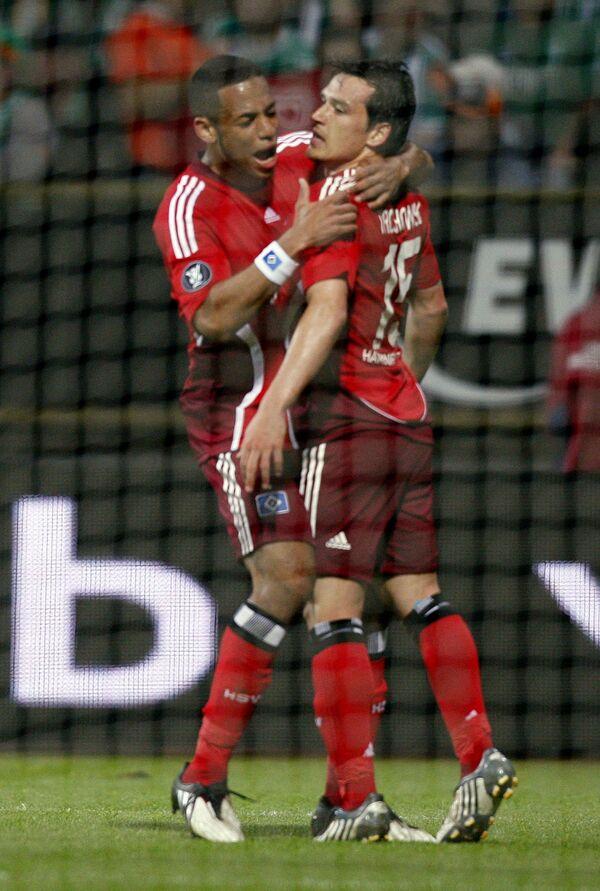Гамбург обыграл Баварию в чемпионате Германии по футболу