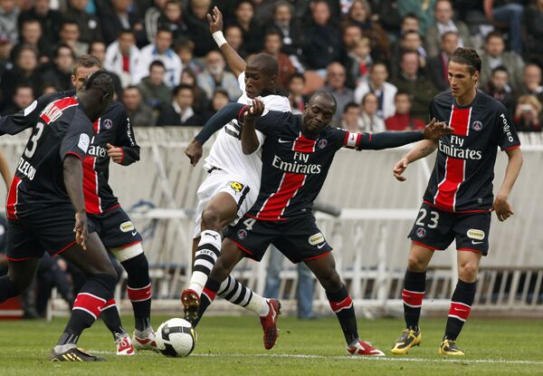 Пари Сен-Жермен разгромил Булонь в чемпионате Франции по футболу