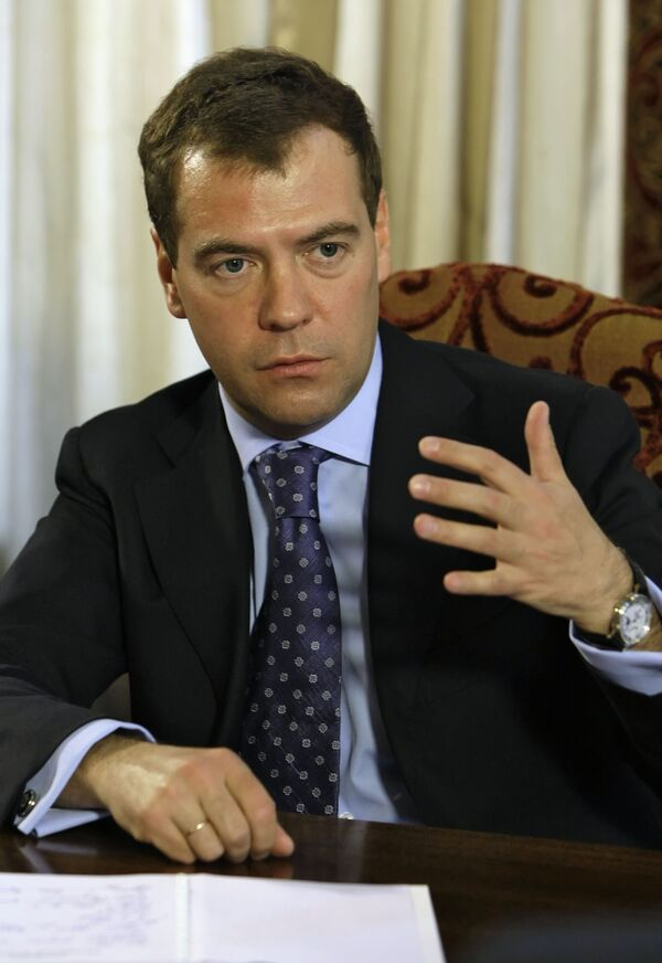 Духовная общность славянских народов помогает их диалогу -  Медведев