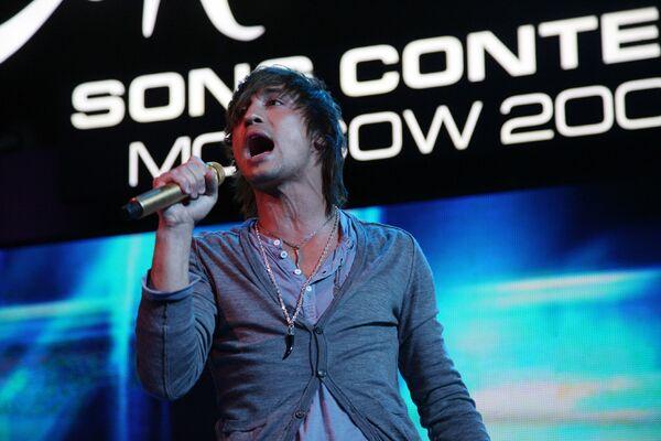 Победитель конкурса Евровидение-2008 Дима Билан