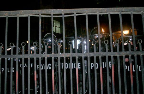 Спецназ у здания Главного управления МВД Грузии
