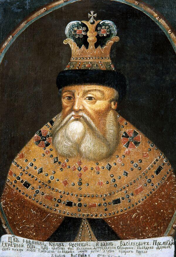 Портрет царя Ивана IV Грозного