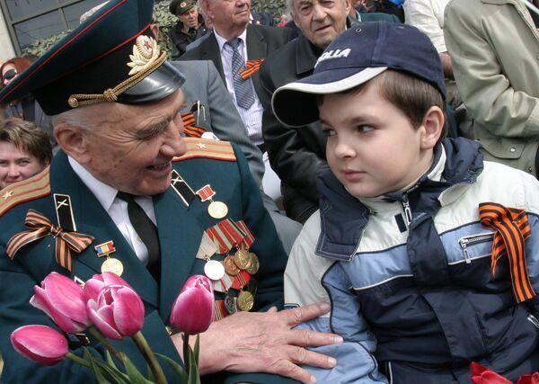 9 мая в Ростове-на-Дону. Архив