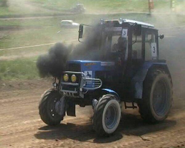 Экстремальные гонки на тракторах