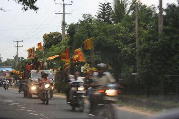 Жители Шри-Ланки ликованием встретили известие о победе правительственных войск над тамильскими сепаратистами
