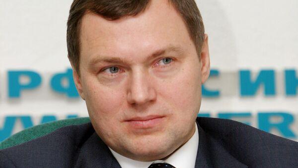 Глава ОАО Федеральная сетевая компания Единой энергетической системы (ФСК ЕЭС)  Олег Бударгин. Архив