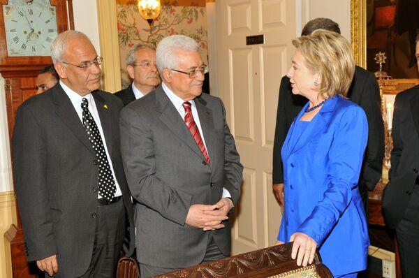 Палестинцы приветствуют усилия США по достижению мира в регионе
