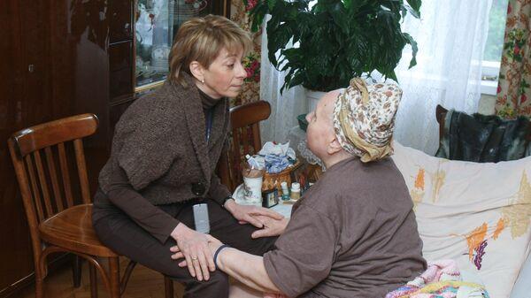 Доктор Лиза — Елизавета Глинка оказывает помощь на дому