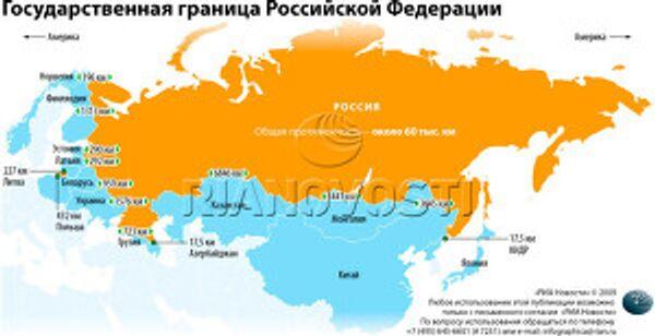 Государственная граница Российской Федерации