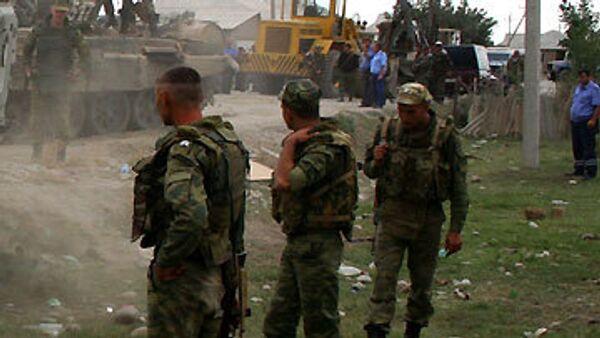 Широкомасштабная операция по уничтожению боевиков начата в Ингушетии