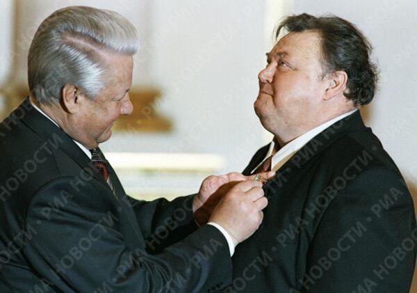 Борис Ельцин и Вячеслав Невинный