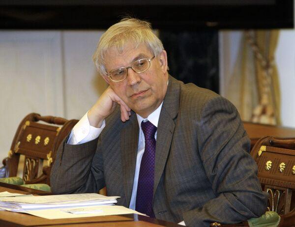 Глава Центробанка России Сергей Игнатьев