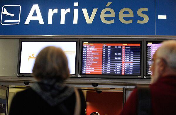 В аэропорту Шарля Де Голя