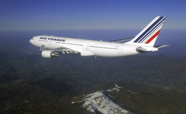Самолет Airbus A330-200 авиакомпании Air France