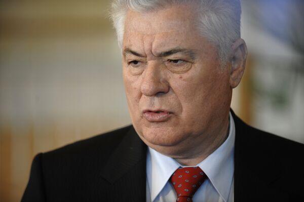 Президент Молдавии на заседании парламента страны