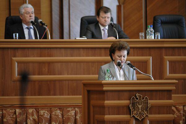 Выборы президента Молдавии на заседании парламента страны