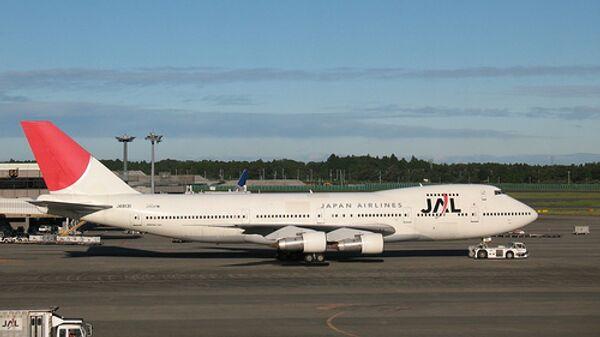 Авиакомпания Japan Airlines Company. Архивное фото