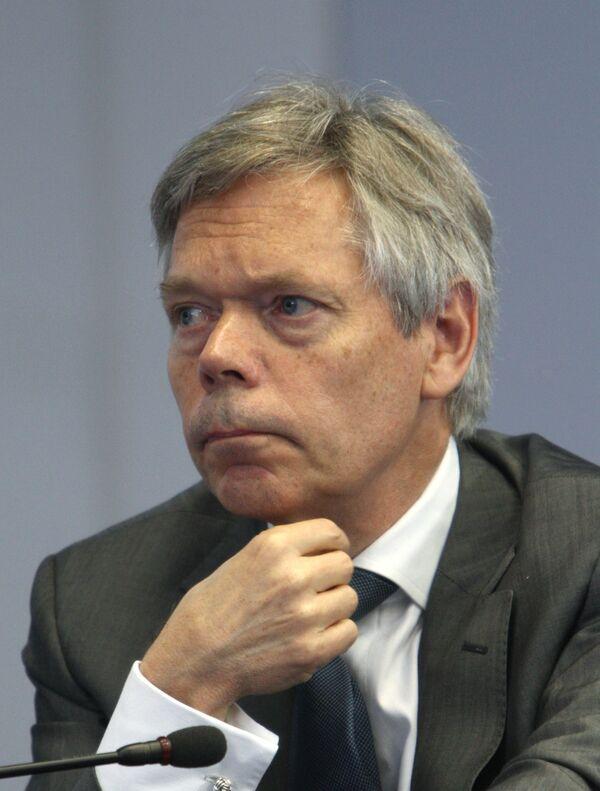 Клаус Роланд на конференции по программам продовольственной помощи в рамках Вмсемирного Зернового форума