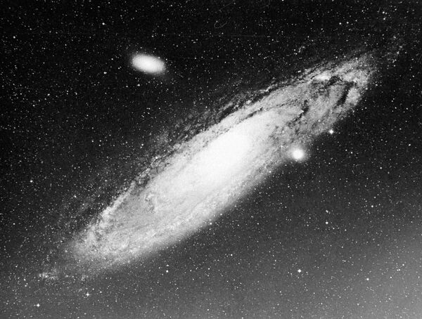 Спиральная туманность Андромеды