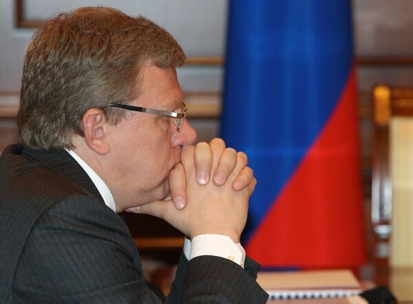 Министр финансов А.Кудрин